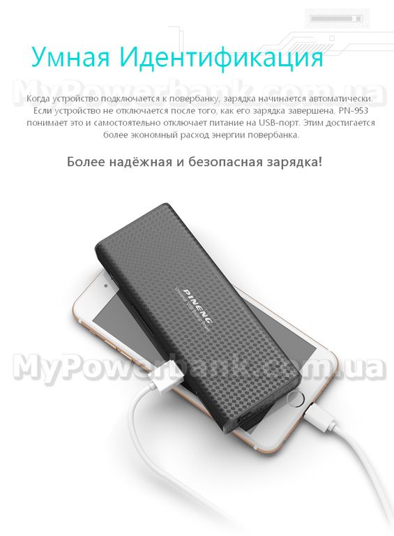 Power bank PINENG PN-953 фото